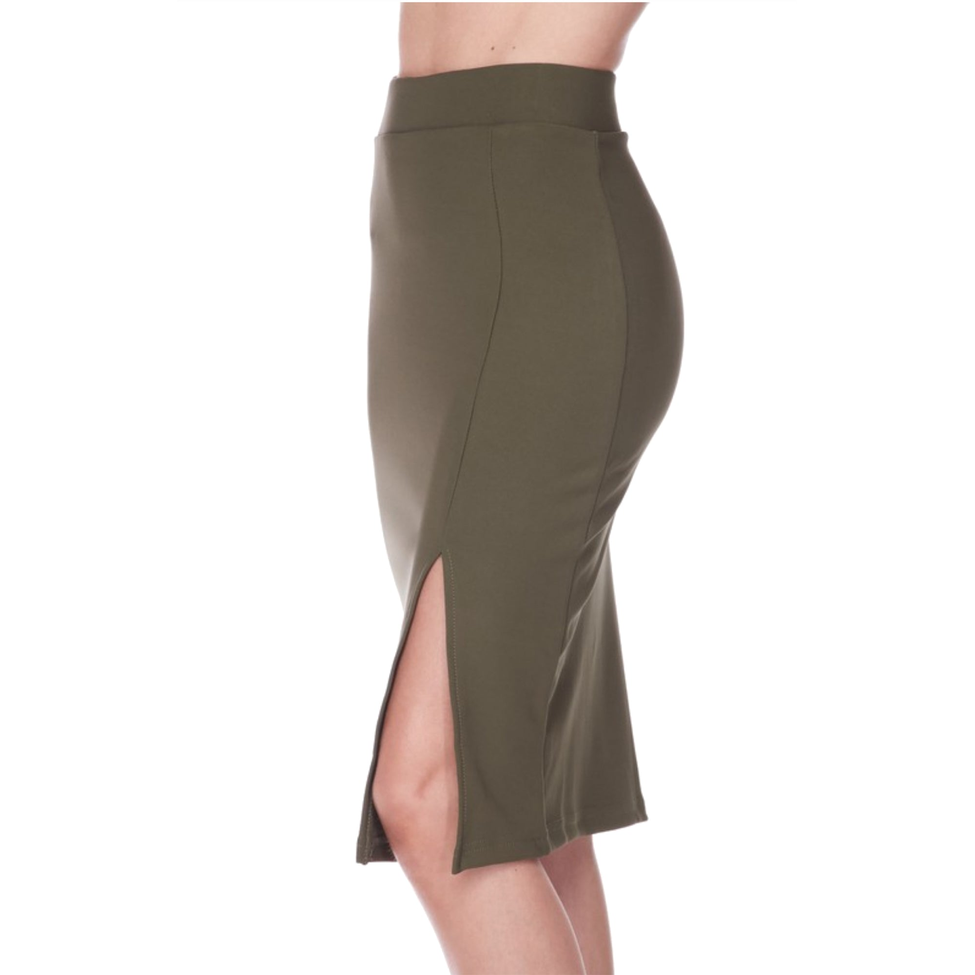 Women's Fitted Pencil Skirt
