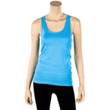 Women's 100% Cotton Basic Racerback Tank Top