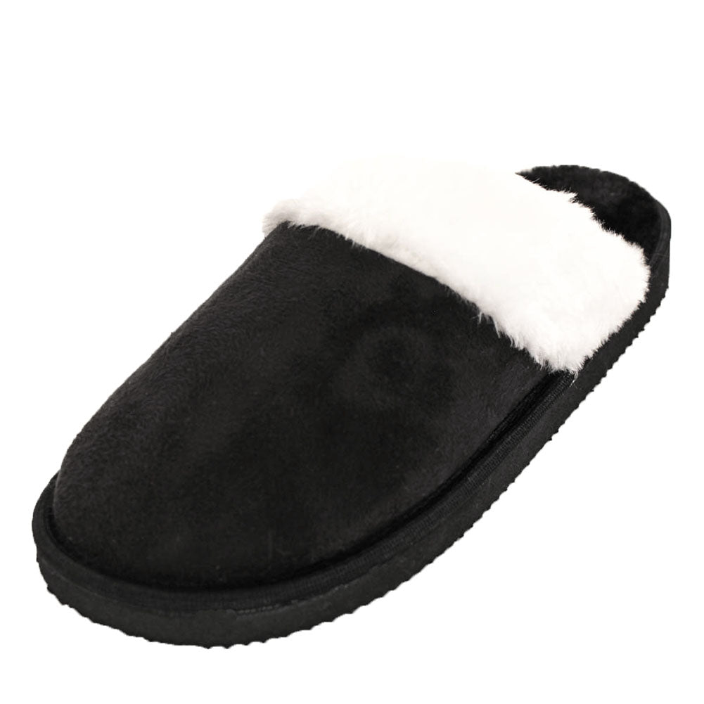 Women's Furry Comfort Mule Slippers