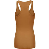 Women's Ribbed Racer Tank Top