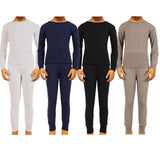 Boy's 100% Cotton Thermal Underwear Two Piece Set
