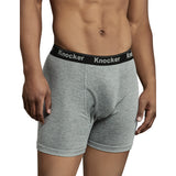 Men's 2 or 4 Pack 100% Cotton Boxer Brief Underwear