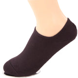 Men's 3 Pairs of Bamboo Fiber No Show Socks