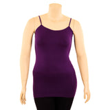 Women's Plus Size Stretch Camisole Cami Tank Top