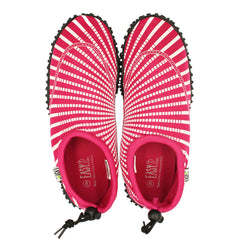 SLM Men's Indoor Slipper Cozy Warm Fur Lined Slip On Mule Houndstooth Knitted Soft Shoes