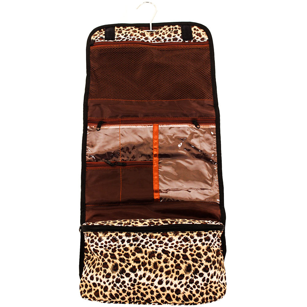 Travel Printed Hanging Cosmetic Makeup Toiletry Bag