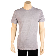 Men's 100% Cotton Basic Crew Neck T-Shirt