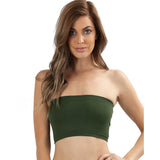 Women's Seamless Racerback Bodysuit Top