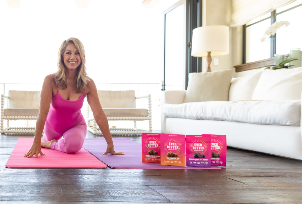 Denise Austin Working Out at Home with EVER BETTER Protein Bites