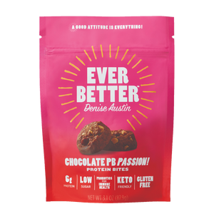 Chocolate Peanut Butter Passion! Protein Cookie Bites