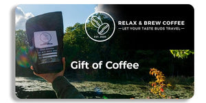 Relax and Brew Gift Cards