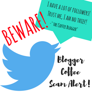 "Beware! ""Coffee Blogger"" aka Allen Glines= Coffee Freeloader"