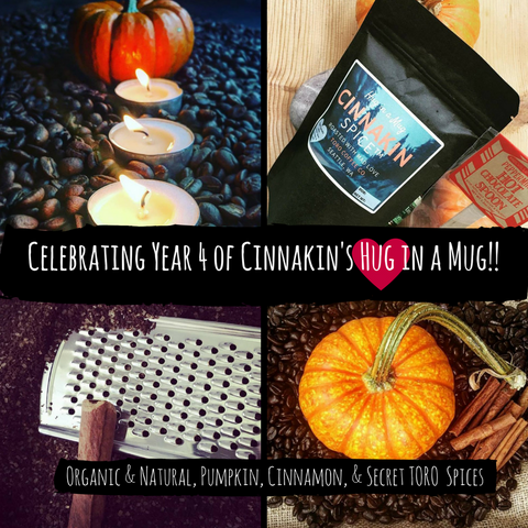 Cinnakin Spice™ - Cinnamon, Pumpkin, & Holiday Spice (all Organic spices)