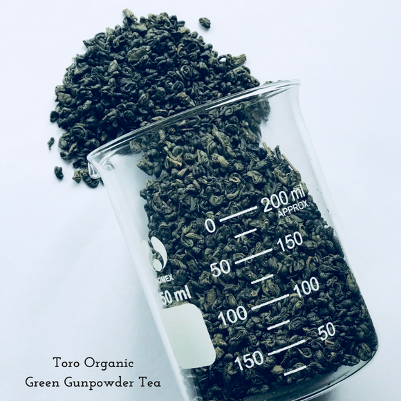 Gunpowder Organic Green
