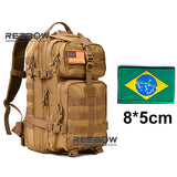 REEBOW TACTICAL Outdoor Hiking Backpacks for Military 3D Hunting Fishing Camping Trekking Rucksack