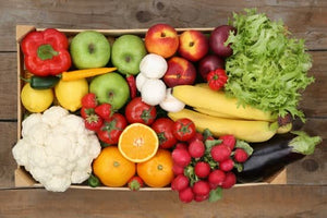Fruits and vegetables box
