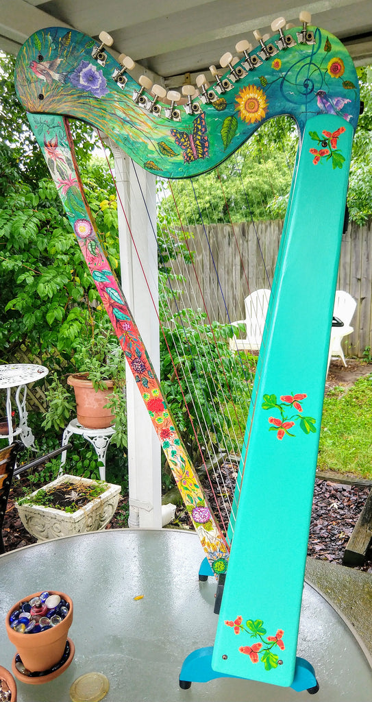 Naming & Painting your own harp?
