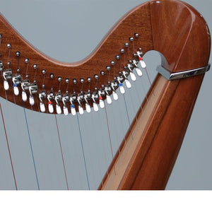 Are there Aternative Tunings for your fixed-string, C-Major harp?
