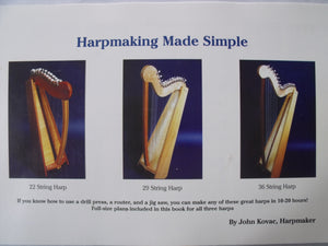Harpmaking Made Simple Book