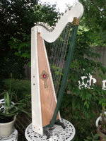 34 STRING PARAGUAYAN STYLE FOLK HARP KITS, WOOD INCLUDED