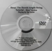DVD: HARP! THE HAROLD ANGEL'S STRINGS- A LEARNING COMPANION MATCHES CD