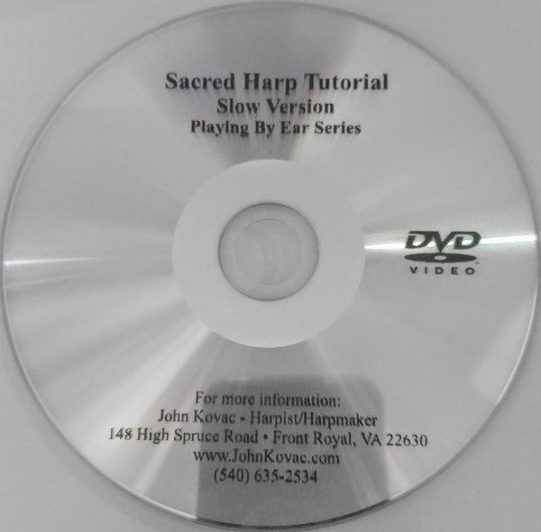 DVD: SACRED HARP MUSIC- A LEARNING COMPANION MATCHES CD