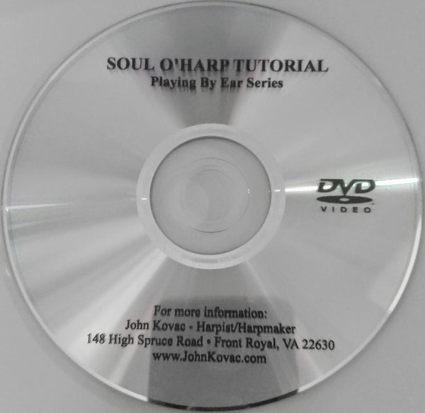 DVD: SOUL O'HARP- A LEARNING COMPANION MATCHES CD