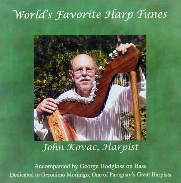 CD: WORLD'S FAVORITE HARP TUNES