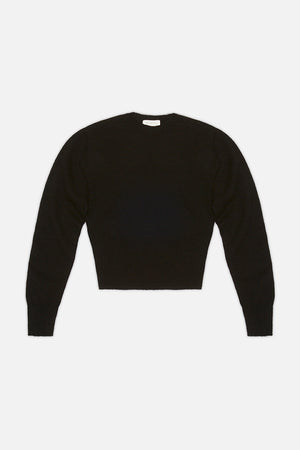Womens Standard Crop Sweater