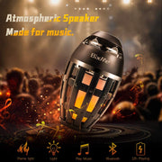 Flame Torch Speaker with Lamp 4.2 Wireless Portable Atmosphere