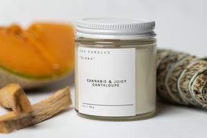 "Cannabis & Juicy Cantaloupe - ""The Diana Candle"""