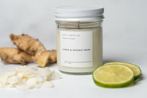 "Ginger & Coconut Musk - ""The Masters Candle"""