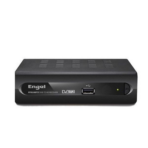 TDT Engel Axil RT6100T2 HDMI USB Black