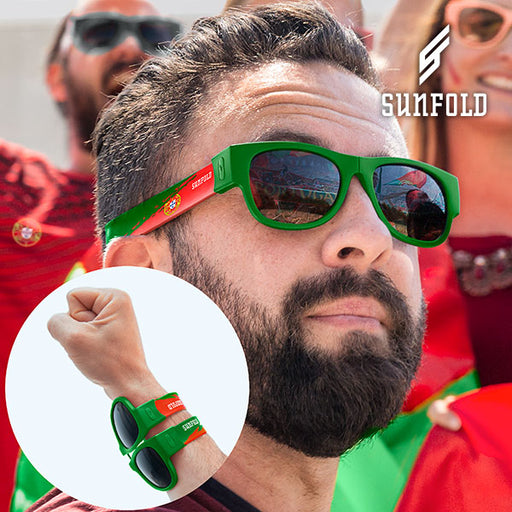 OUTLET Sunfold World Cup Portugal Roll-Up Sunglasses (No packaging)