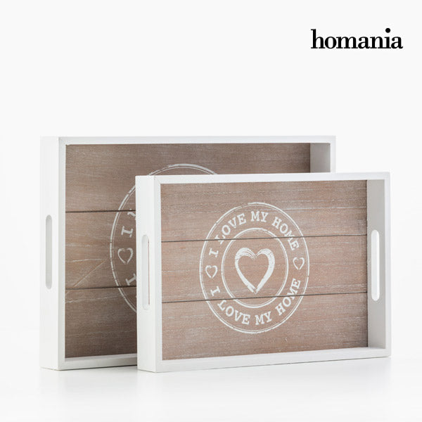 I Love My Home by Homania Trays (pack of 2)