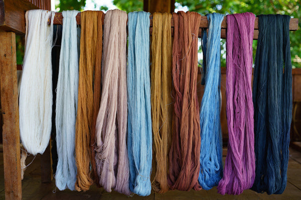 Available 100% natural dye colors