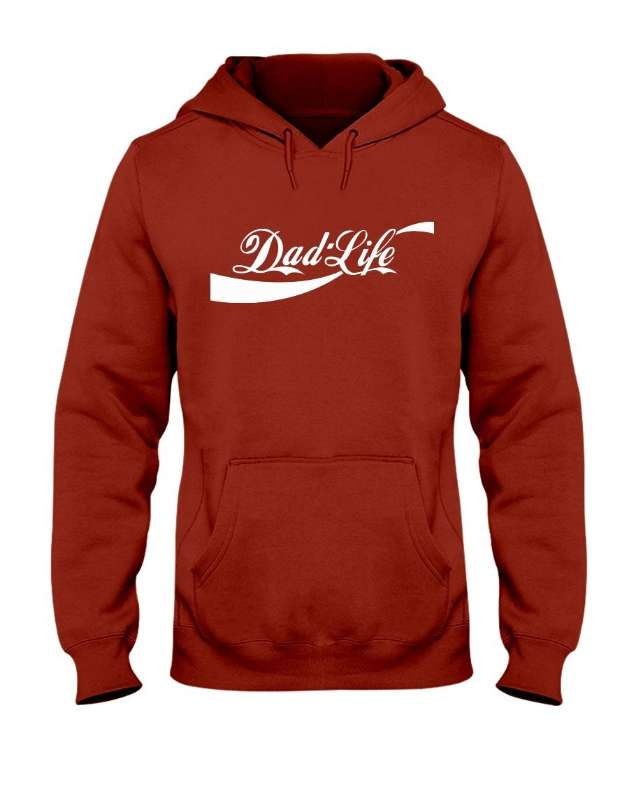 Dad Life Hooded Sweatshirt - Total Dads