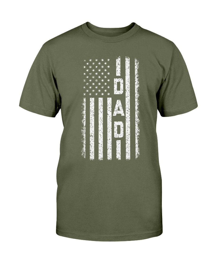 Next Level Patriotic Dad T-Shirt - Total Dads