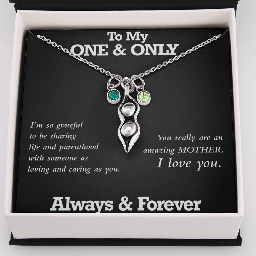 Pea Pod Necklace - My One & Only - Total Dads