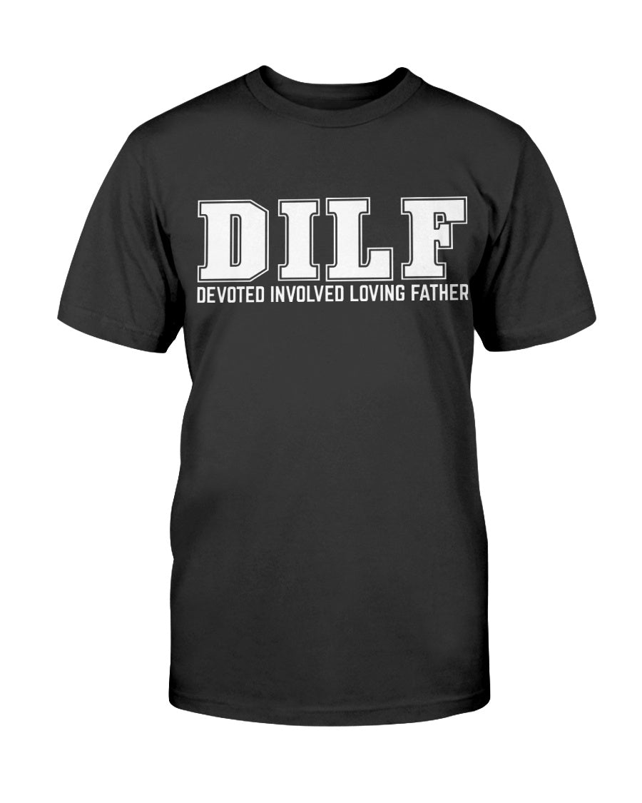 Next Level Fitted D.I.L.F. Dad T-Shirt - Total Dads