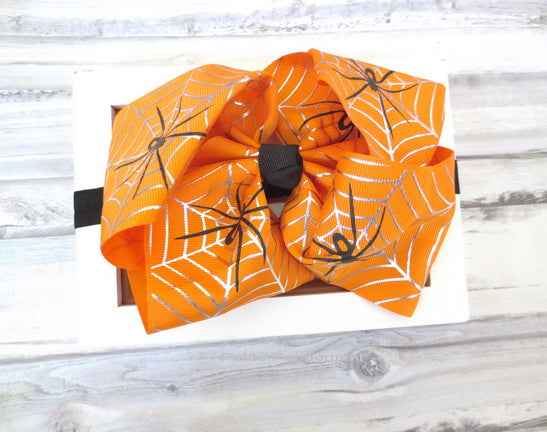 Halloween Big Bow Headband