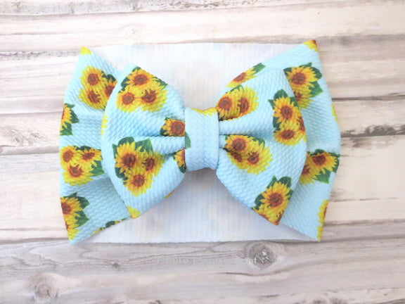Sunflower Baby headwrap