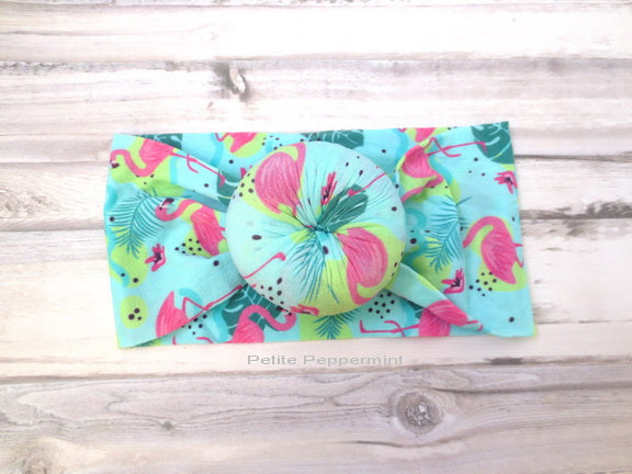 Flamingo Baby Nylon Headband