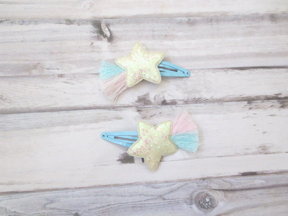 Star Hair Clip - Set of Two
