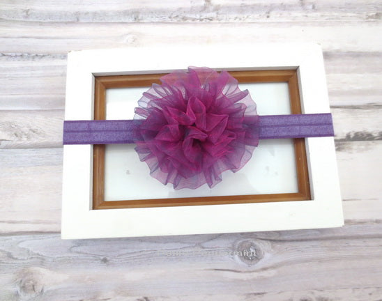 Purple Tutu Headband