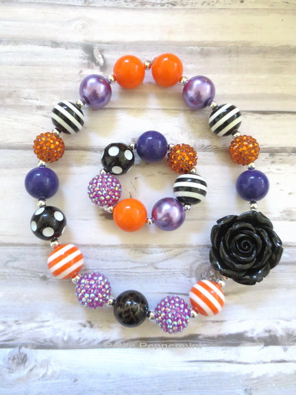 Halloween Necklace and Bracelet