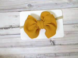 Baby headband, baby head band bow, baby headband nylon, newborn headband, infant, toddler headband. baby hair bow, Baby Bow headband