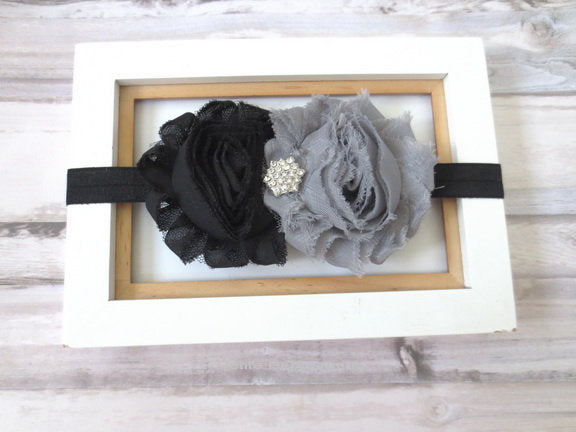 Baby Headband, Baby flower headband, Newborn Headband, Toddler Headband