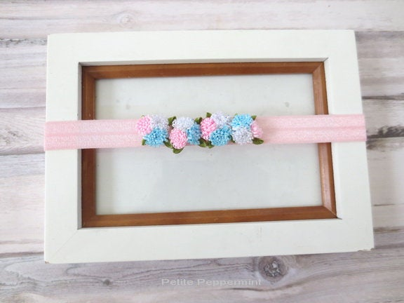 Baby Headband, Baby Head Band, Baby Headband flower, Baby Hair Bow, Newborn headband, infant headband flower