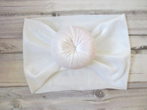 White Baby headband,Baby Girl Headband,Infant Headband,Velvet Bow Headband,Baby Bow Headband,Baby Hair Bow,Baby Head Wrap, Baby Head Band